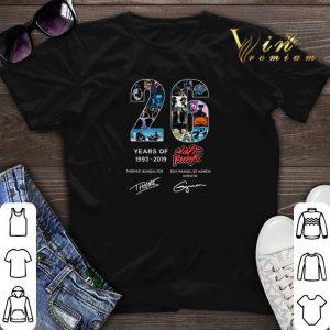 Signatures 26 Years of Daft Punk 1993-2019 Thomas Bangalter shirt