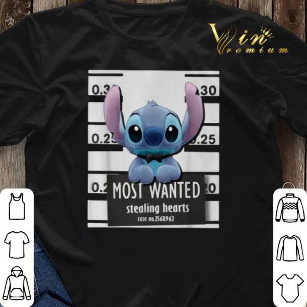 Stitch Most Wanted Stealing Hearts shirt sweater