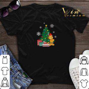 The Christmas Tree Garfield Around shirt