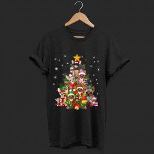 Top Chihuahua Christmas Tree Xmas Gift For Chihuahua Dog shirt