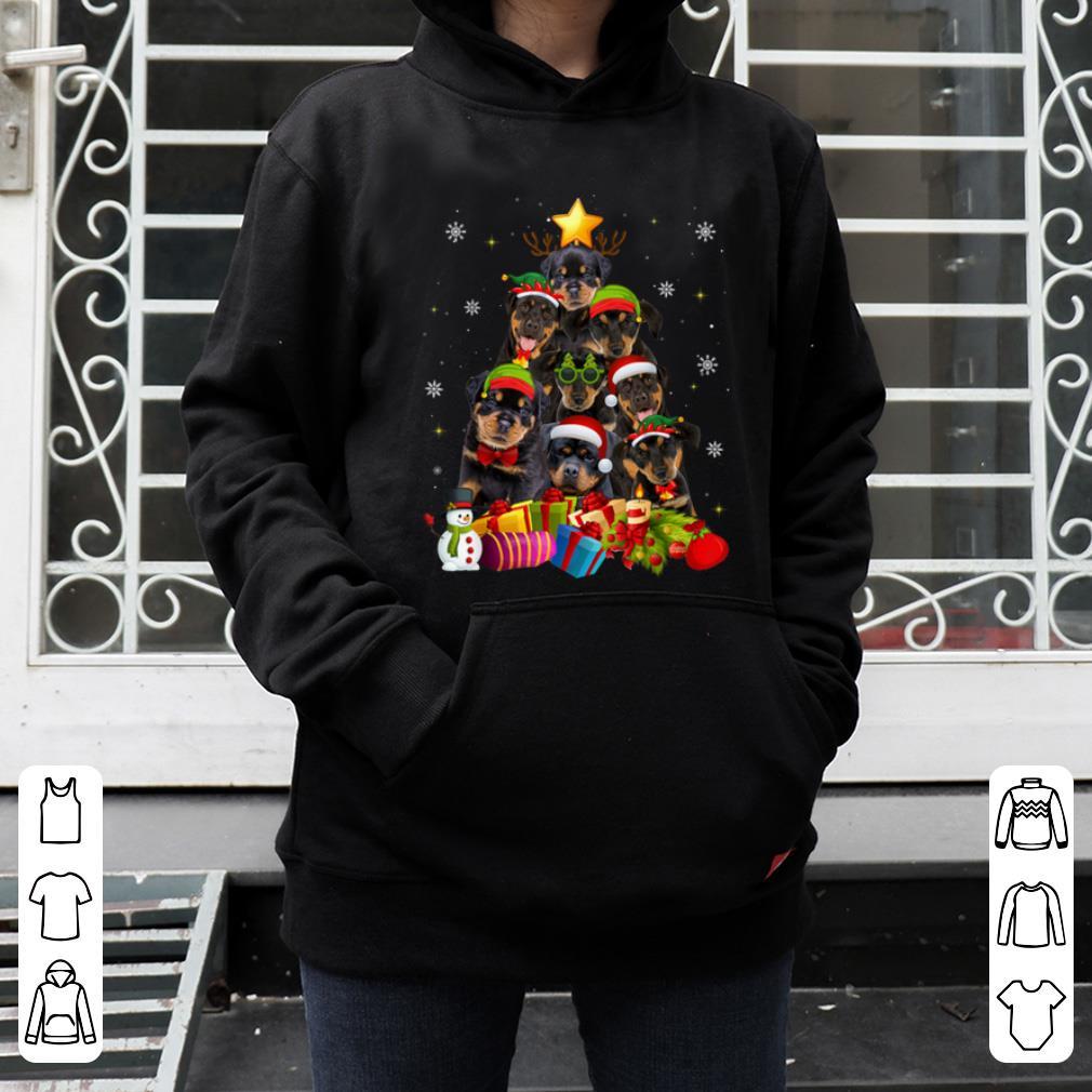 Top Funny Rottweiler Christmas Tree Gifts Xmas sweater 4 - Top Funny Rottweiler Christmas Tree Gifts Xmas sweater