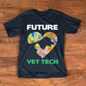 Top Future Vet Tech Veterinarian Cat And Dog shirt