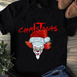 Top Santa IT Pennywise Christmas shirt