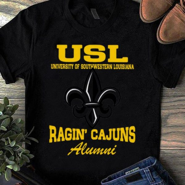 Top Usl University Of Southwestern Louisiana Ragin' Cajuns Alumni shirt