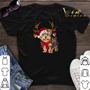Yorkshire Terrier gorgeous reindeer Christmas shirt sweater
