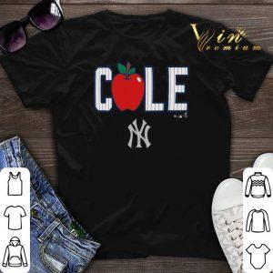 45 Gerrit Cole New York Yankees Apple shirt sweater