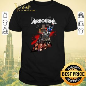 Awesome Airbourne all signature guitarist shirt sweater