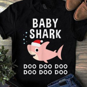 Awesome Baby Shark Doo Doo Christmas for Family Pajamas sweater