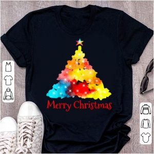 Awesome Cute Colorful Christmas Tree Xmas Family Holidays Gift Tee sweater