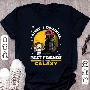 Awesome Darth Vader and Little Princess best friends in the Galaxy shirt