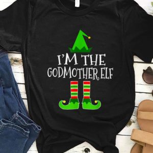 Awesome Godmother Elf Family Matching Group Christmas Gift Women sweater