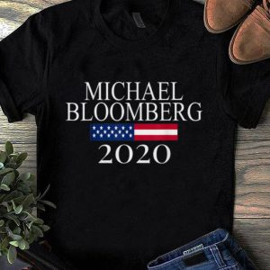 Awesome Michael Bloomberg US President 2020 American Flag shirt