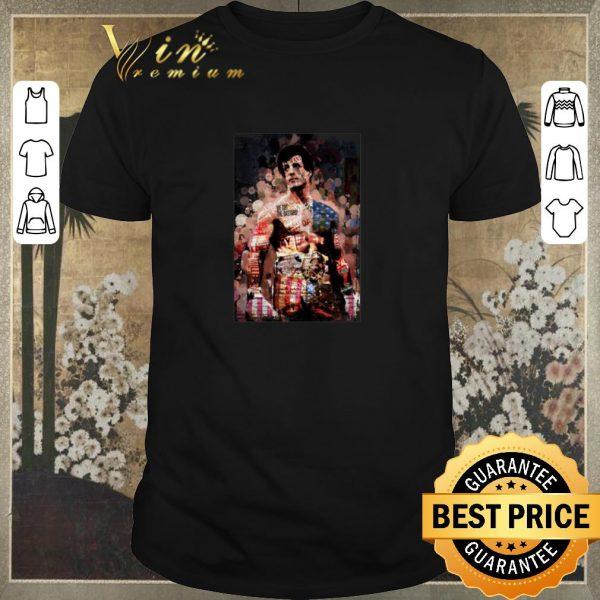 Awesome Rocky Balboa magazine poster shirt sweater