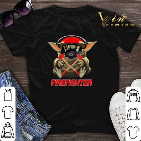 Baby Yoda Mashup Firefighter Star Wars shirt sweater