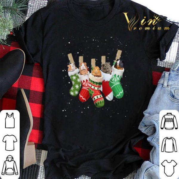 Christmas Guinea Pig socks shirt