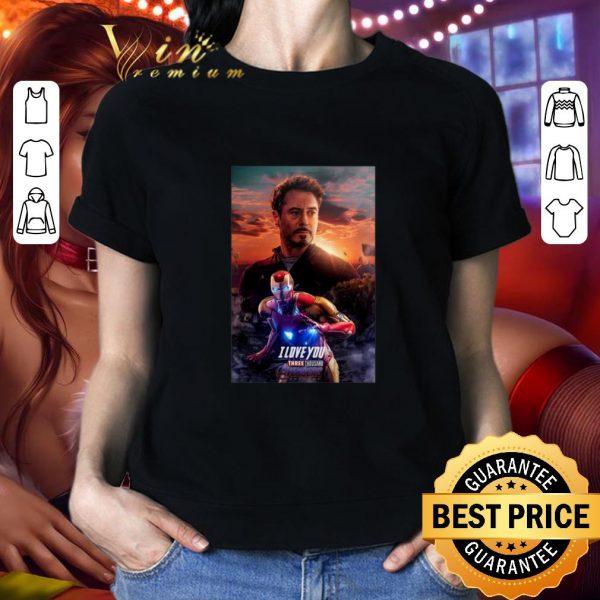 Cool Ironman I Love You Three Thousand Potter shirt