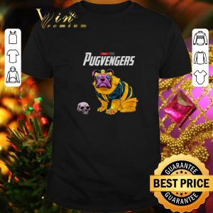 Cool Marvel Avengers Endgame Pug Thanos Pugvenger shirt