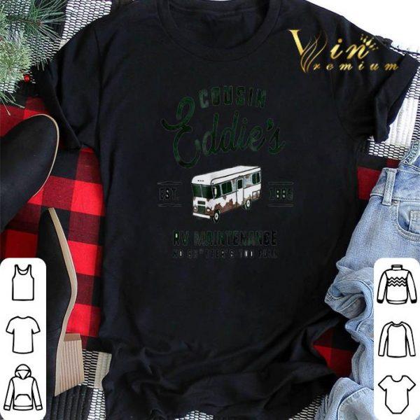 Cousin Eddie's Est. 1995 RV maintenance no shitter's too full shirt sweater