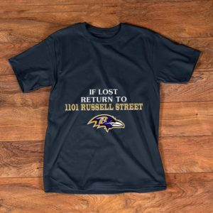 Great Baltimore Ravens If Lost Return To IIoI Russell Street shirt
