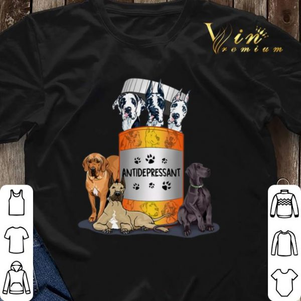 Great Dane dogs Antidepressant shirt sweater