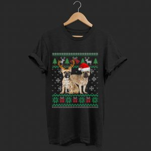 Great French Bulldog Dog Ugly Christmas Puppy Xmas Pajamas Gift sweater
