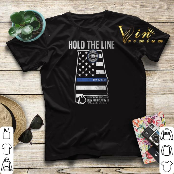 Hold The Line Investigator Stac Agent Billy Fred Clardy III shirt sweater 4 - Hold The Line Investigator Stac Agent Billy Fred Clardy III shirt sweater