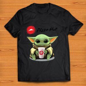 Hot Baby Yoda Hug Pizza Hut shirt