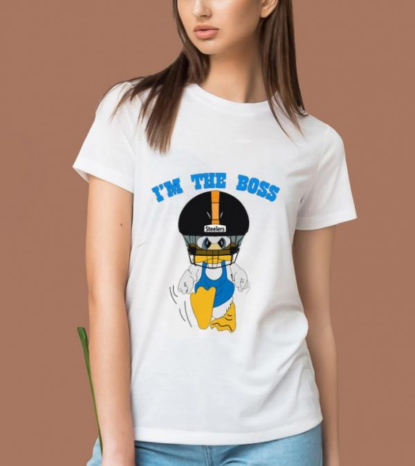 Hot Duck Hodges I'm The Boss Steelers shirt