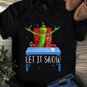 Hot Grinch And Max Let It Snow shirt
