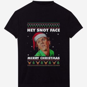 Hot Hey Snot Face Merry Christmas Drop Dead Fred Ugly Christmas shirt