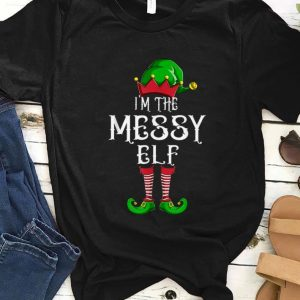 Hot I'm The Messy Elf Matching Family Group Christmas sweater