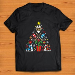 Hot Ice Hockey Christmas Ornament Tree Xmas Christmas shirt