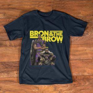 Hot LeBron James Bron & The Brow Anthony Davis Los Angeles Lakers shirt