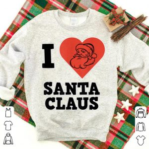 Hot Santa Claus for Christmas - I love Santa Claus sweater