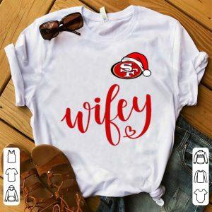 Hot Santa San Francisco 49ers Wifey shirt