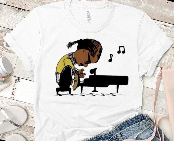 Hot Snoop Dogg Playing Piano Snoopy shirt
