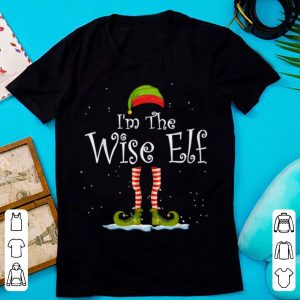 I'm The Wise Elf Christmas Family Elf Costume sweater