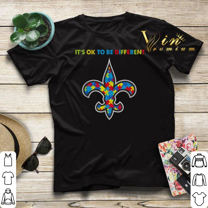 It s ok to be different New Orleans Saints Autism Awareness shirt sweater 4 - It's ok to be different New Orleans Saints Autism Awareness shirt sweater