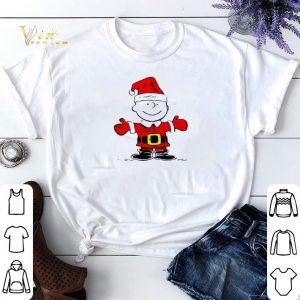 Merry Christmas Santa Charlie Brown shirt