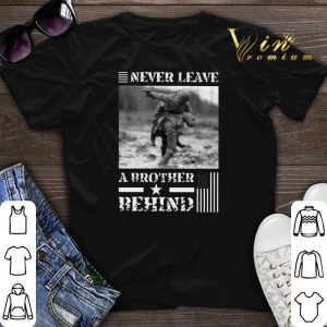Never leave a brother behind American flag shirt sweater