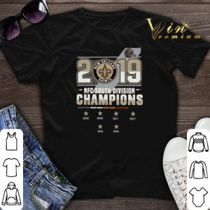New Orleans Saints 2006-2019 NFC South Division Champions shirt sweater