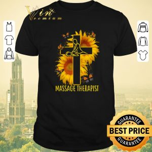 Nice Butterfly Massage Therapist Christ Sunflower shirt sweater