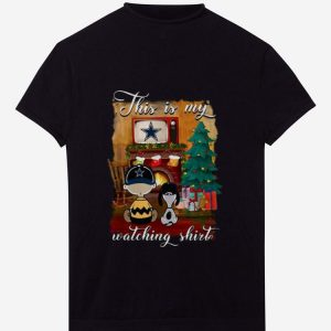 Nice Charlie Brown Dallas Cowboys This Is My Hallmark Christmas Movie shirt