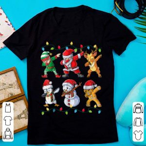 Nice Dabbing Santa Elf Friends Christmas boys Xmas Gifts sweater