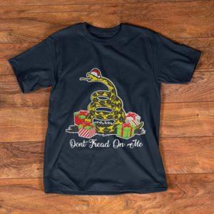 Nice Dont Fread On The Santa Ugly Christmas shirt