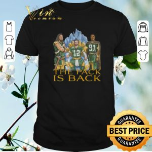 Nice Green Bay Packers the pack is back shirt sweater