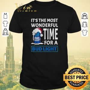 Nice It's the most wonderful time for a Bud Light Christmas shirt sweater