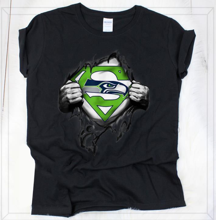 seattle seahawks superman shirt