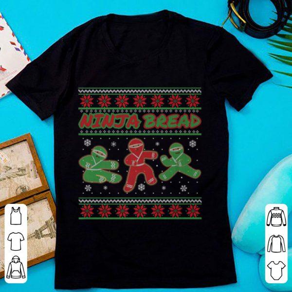 Ninjabread Man Gingerbread Ninja Ginjas Christmas Gift sweater