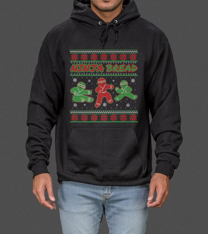 Ninjabread Man Gingerbread Ninja Ginjas Christmas Gift sweater 4 - Ninjabread Man Gingerbread Ninja Ginjas Christmas Gift sweater